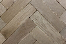 P116 Tumbled Rustic Oak Parquet Flooring Blocks unfinish, size 16x70x280mm