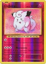 Clefairy Rare Reverse Holo Pokemon Card XY12 Evolutions 63/108