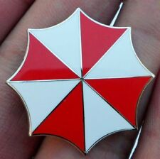 NEW RESIDENT EVIL UMBRELLA CORPORATION BADGE BROOCH PIN LOGO METAL