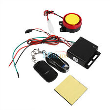 Motorcycle Bike Anti-theft Security Alarm System Remote Control Engine Start 12V