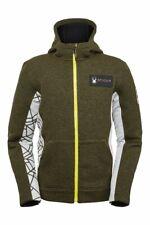 Spyder Slalom Hoodie Jacket - Men's - Small, Dark Olive