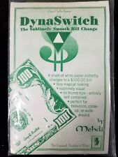 Tenyo Interest: Rare Gary Oulette Dynaswitch Bill Change New In Package