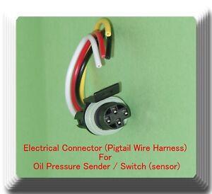 Electrical Connector of Oil Pressure Sender/Switch Sensor Fits: GM Motors
