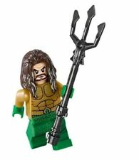 Lego DC Super Heroes 76095 Justice League - Aquaman Minifigure with Trident New