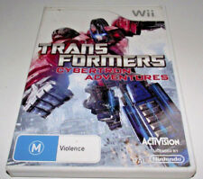 Transformers Cybertron Adventures Nintendo Wii PAL *Complete* Wii U Compatible