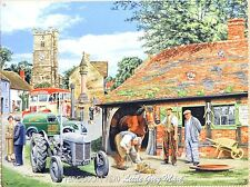 Ferguson TE20 Vintage Tractor Reproduction Tin Metal Sign Gift Present (256)