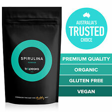 ORGANIC Spirulina Powder 200g   PREMIUM   FREE Shipping   Complete Nutrition