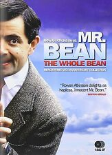 The Whole Mr Bean Complete Series DVD Set Collection Episode Rowan Atkinson Film