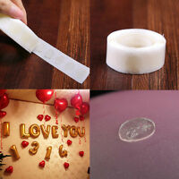 100pcs Adhesive Tape Double Sided Glue Dots Sticker DIY Air Balloon Decor 1Roll