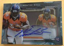 2013 Topps Football Montee Ball  Autograph Card 34/35