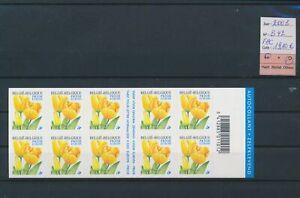 LO05435 Belgium 2003 flowers nature booklet MNH fv 19,1 EUR