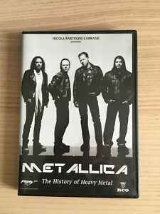 Metallica _ The History of Heavy Metal _ DVD _ COME NUOVO NEAR MINT