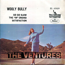"The Ventures 7""  'A Go Go' (original Mexico EP,1965) Wooly Bully / Satisfaction"