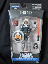 "2015 HASBRO~MARVEL LEGENDS~CAPTAIN AMERICA~TASKMASTER~6"" ACT FIGURE~NIB~W/BAF"