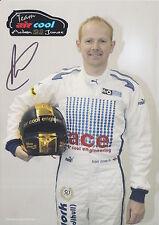 Adam Jones Hand Signed Promo Card Touring Cars 1.