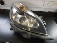 DRIVERS HEADLIGHT RENAULT CLIO MK3 2005 TO 2012 DRIVERS OFFSIDE OSF 8200261615