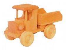 Holzauto ökologisches Holzspielzeug Lastzug Kipper LKW Lastauto 933-9254