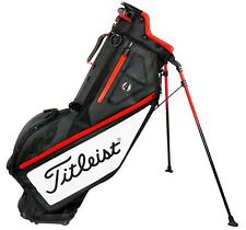 NEW 2017 Titleist Players 4 STAND CARRY GOLF BAG BLACK/WHITE/RED TB7SX1-016