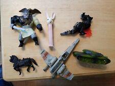 Old Toy Lot Walt Disney Star Wars Military Tank Knight Horse Dragon Easter Pez