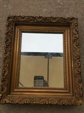 Antique Ornate Golden Scroll Work Framed Mirror! Beautiful Piece for Any Wall!