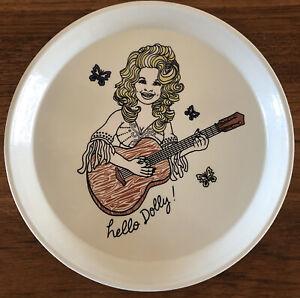 """RARE Dolly Parton Cambro Camtray Fiberglass Trinket Dresser Tray 9"""", Fishs Eddy"""