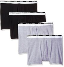 "Gildan Men's Black & Grey Premium Cotton Trunk Large (36-38"")"