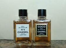 Lot of 2 Coco Chanel No 5 Eau de Parfum EDP & Eau de Toilette EDT Mini Perfumes