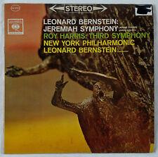 Bernstein-Jeremiah Symphony & Harris Symphony-Columbia 6 Eye Stereo MS-6303 VG++