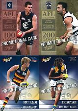 2012 CHAMPIONS AFL 4 CARD PROMOTIONAL CARD SET