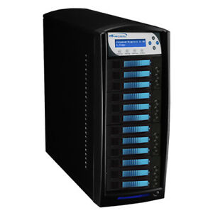11 Target HDD Hard Drive SSD Data Clone Duplicator Standalone HDDShark-11T-BK