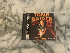 Tomb Raider Ii [2] [Black Label] (PlayStation 1, 1997) Ps1 Game Complete Great!