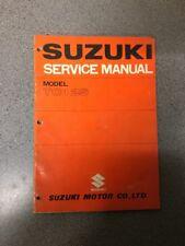 Suzuki TC125 Original Factory Shop Service Repair Manual OEM