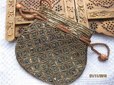 Sequin Hand Clutch Bag Wrist Handbags Purse(Batua)Party Wedding Prom Gold BlackG