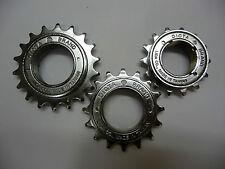 "DICTA Chrome BMX Freewheel 18T / 16T / 14T Single Speed Cog Sprocket 1/2"" x 1/8"""