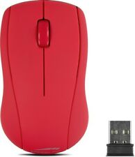 SPEEDLINK SNAPPY Mouse Maus wireless kabellos USB Computer PC Office Büro rot