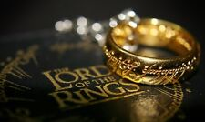 Lord of the Rings The One Ring, LOTR, Noble, Frodo, Bilbo, Hobbit, Sizes 6-13