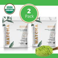 ➡➡🍵100% ORGANIC Matcha Green Tea Powder Japanese Culinary Grade 1 oz. (2 PK.)