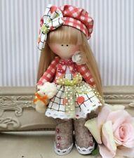 Rag doll handmade in the UK Tilda doll Ooak doll Cloth doll STACEY 6 inch tall