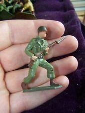 """Figurine starlux """"soldat américain avec fusil à baïonnette"""""""
