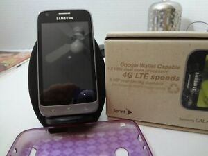 Samsung Galaxy Victory SPH-L300 Gray (Sprint-Tello) Prepaid Android Smartphone