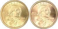 2001 P&D Sacagawea Native American Dollar 2 Coin Set BU Uncirculated $1