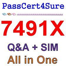 Avaya Aura Call Center Elite and Call Center 7491X Exam Q&A+SIM
