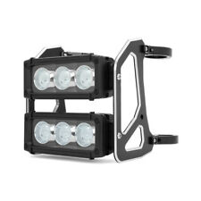 LED Motorbike Light Bar Headlight 56-57mm Dual Stacked For Streetfighter Project