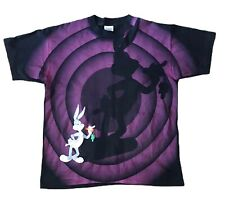 VINTAGE BUGS BUNNY SHIRT 1992 WILD OATS SIZE LARGE SINGLE STITCH WARNER BROS