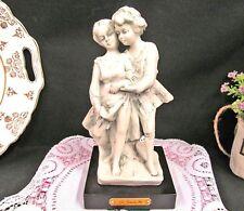 Capodimonte Figurine Flavia vera Porcelain G. Barbetta statue  Loving couple