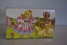 Vintage Avon Bunny Fluffpuff Yellow & Pretty Perfumed Talc + Puff 3.5 oz. - New!