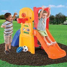 Step2 Play Basketball Play Allstar Hoop Slide Kids Climber Sports Outdoor