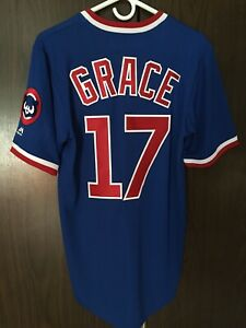 Chicago Cubs Mark Grace Pullover Jersey Mens Size Small
