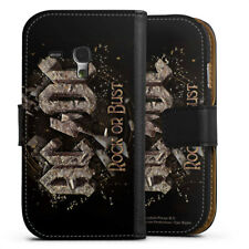 Samsung Galaxy S3 mini Tasche Hülle Flip Case - ACDC Rock or Bust