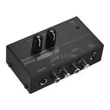 Ultra-compact Phono Preamp Preamplifier with Level & Volume Controls RCA J4C9